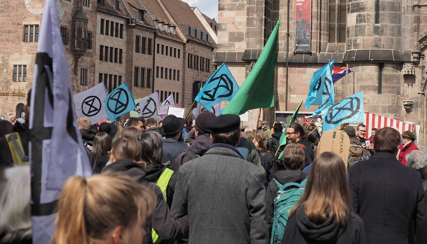 Extinction Rebellion Erlangen